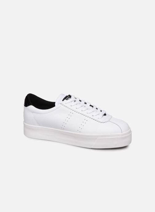 Sneakers Superga 2854 Club 3 Lea W C Wit detail