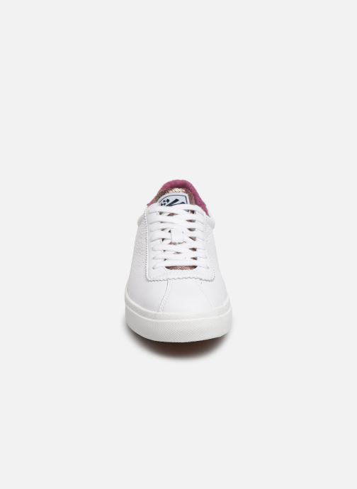 Sneakers Superga 2843 Comf Lea Lame W C Wit model