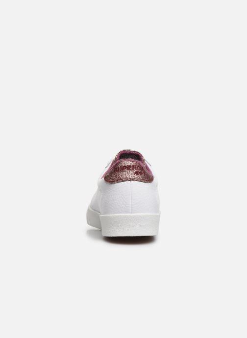 Sneakers Superga 2843 Comf Lea Lame W C Wit rechts