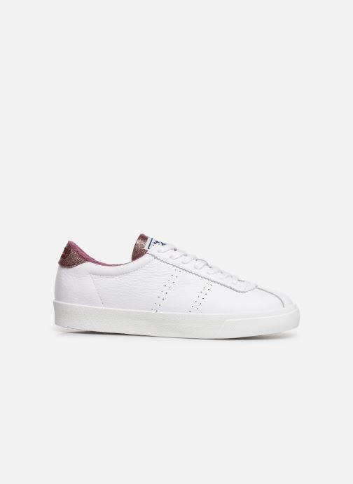 Sneakers Superga 2843 Comf Lea Lame W C Wit achterkant