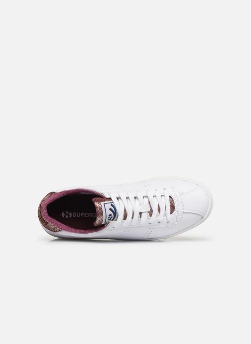 Sneakers Superga 2843 Comf Lea Lame W C Wit links