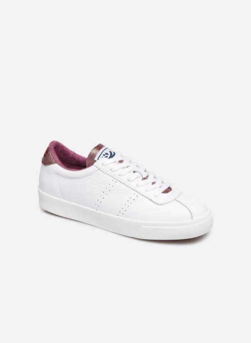 Sneakers Superga 2843 Comf Lea Lame W C Wit detail