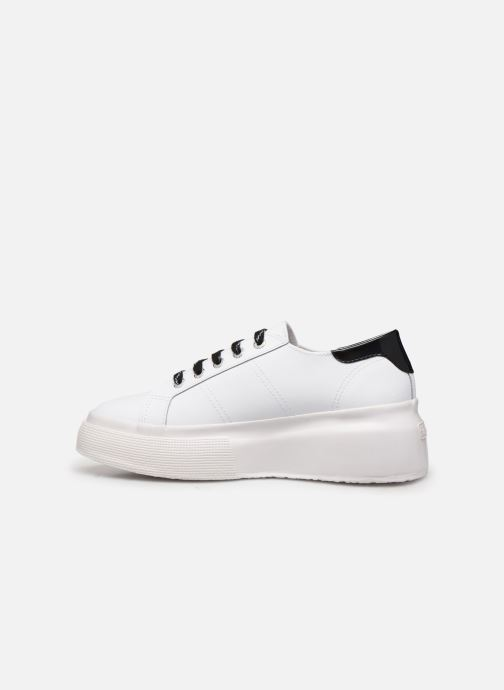 Sneakers Superga 2287 Nappa Patent Ail W C Wit voorkant