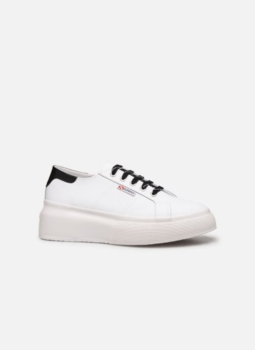 Sneakers Superga 2287 Nappa Patent Ail W C Wit achterkant