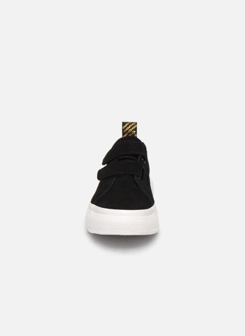 Baskets Superga 2287 Sue Straps Tape W C Noir vue portées chaussures