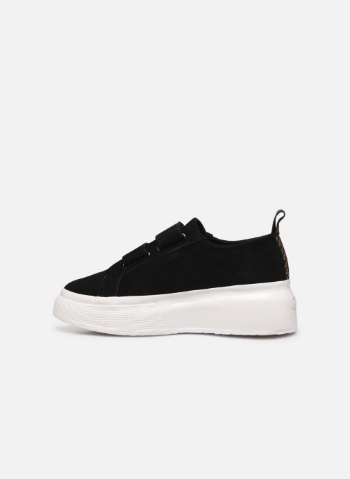 Sneakers Superga 2287 Sue Straps Tape W C Zwart voorkant