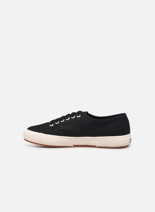 Sneakers Superga 2750 Cotu C M C Zwart voorkant