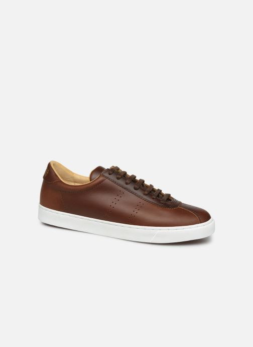 Sneakers Superga 2843 Club S Brushedleam C Bruin detail