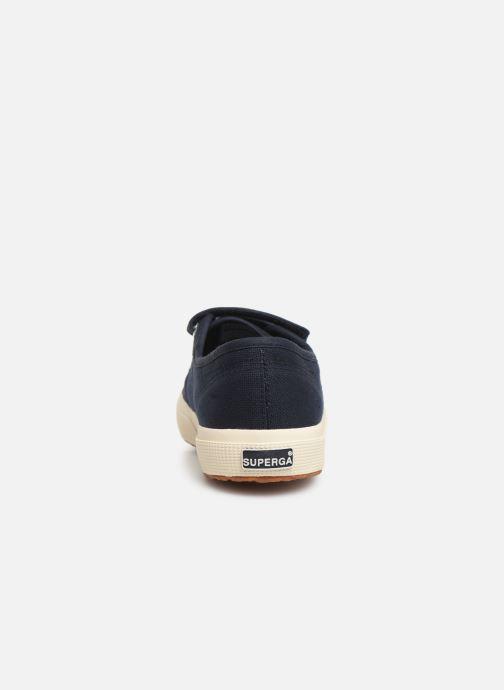 Sneakers Superga 2750 Cot 3 Strapu M C Blauw rechts