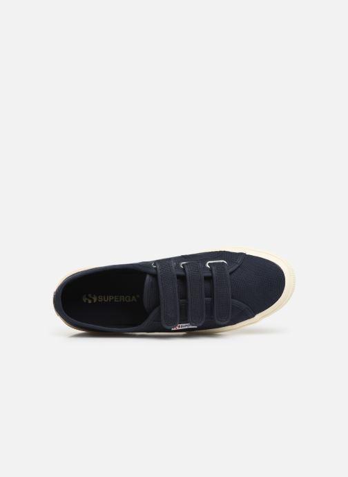 Sneakers Superga 2750 Cot 3 Strapu M C Blauw links