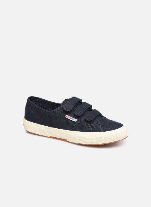 Sneakers Superga 2750 Cot 3 Strapu M C Blauw detail