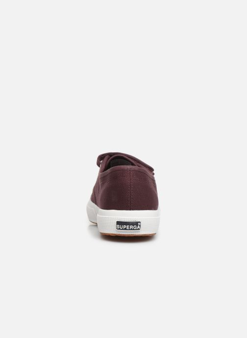 Sneakers Superga 2750 Cot 3 Strapu M C Bordeaux rechts
