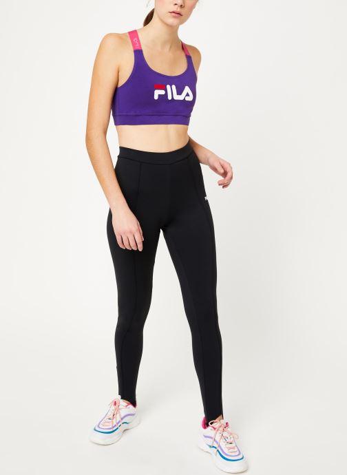 Vêtements FILA Rana Violet vue bas / vue portée sac