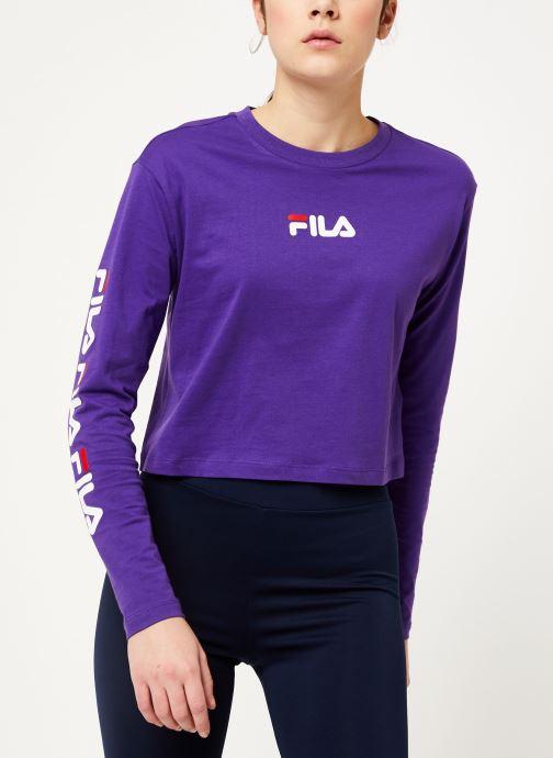 FILA T shirt Reva (Violet) Vêtements chez Sarenza (404586)