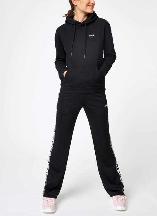 FILA Sweatshirt hoodie - Ebba W (Noir) - Vêtements chez Sarenza (404609)