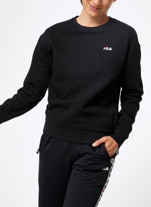 Vêtements FILA Effie Crew Sweat W Noir vue détail/paire