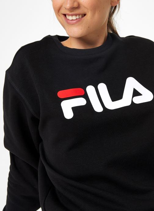 Vêtements FILA Pure Crew Sweat W Noir vue face