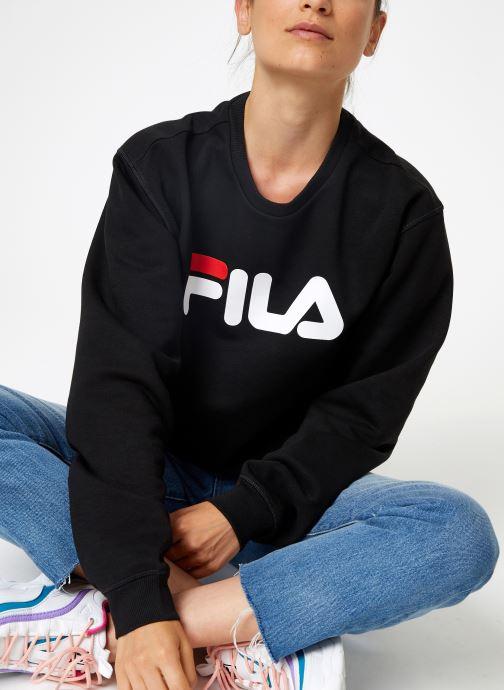 Vêtements FILA Pure Crew Sweat W Noir vue détail/paire