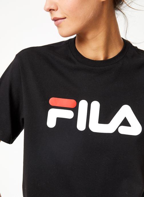 Tøj FILA Pure Short Sleeve Shirt W Sort se forfra