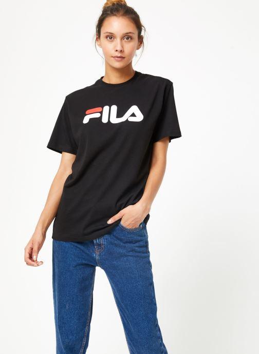 Vêtements FILA Pure Short Sleeve Shirt W Noir vue droite