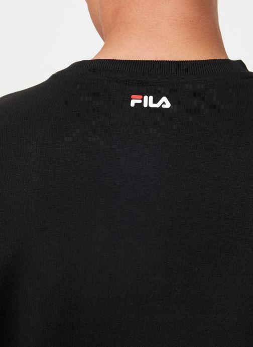 Vêtements FILA Pure Crew Sweat Noir vue face