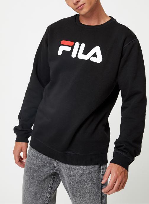 Vêtements FILA Pure Crew Sweat Noir vue droite