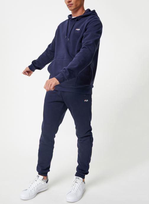Vêtements FILA Edison Bleu vue bas / vue portée sac