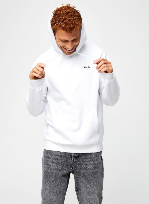 Vêtements FILA Edison Hoody Blanc vue droite