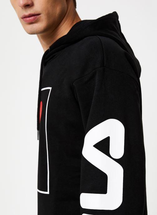 Vêtements FILA Total Noir vue face