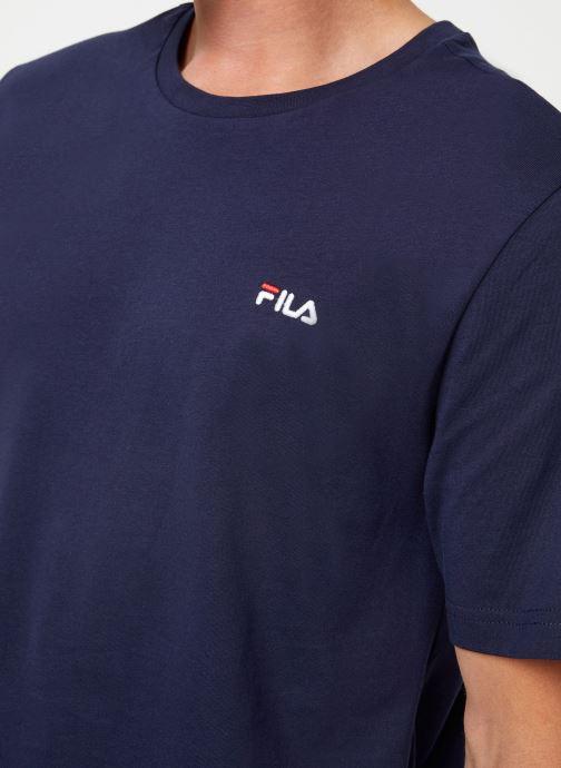 Vêtements FILA Efim t-shirt Bleu vue face