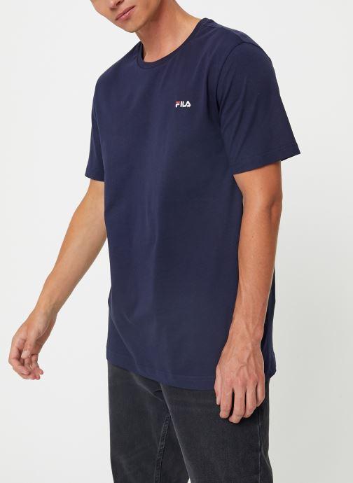 Vêtements FILA Efim t-shirt Bleu vue droite