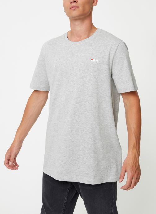 Tøj FILA Efim t-shirt Grå Se fra højre