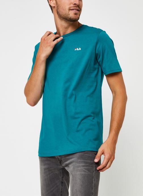 Vêtements FILA Unwind Tee Vert vue détail/paire
