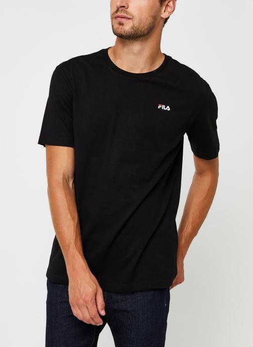 Vêtements FILA Efim t-shirt Noir vue droite