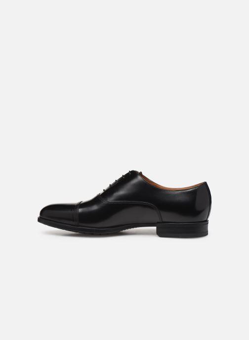 Zapatos con cordones Doucal's OXFORD CAP TOE Negro vista de frente
