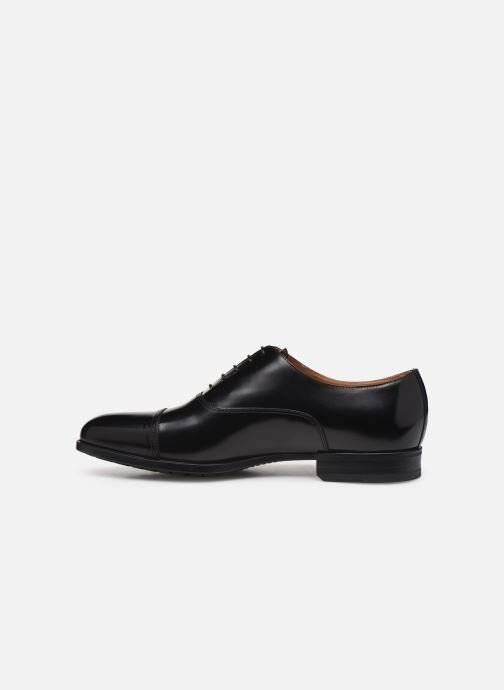 Zapatos con cordones Doucal's OXFORD CAP TOE Negro vista de frente