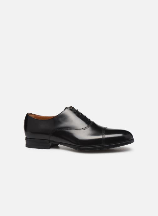 Zapatos con cordones Doucal's OXFORD CAP TOE Negro vistra trasera
