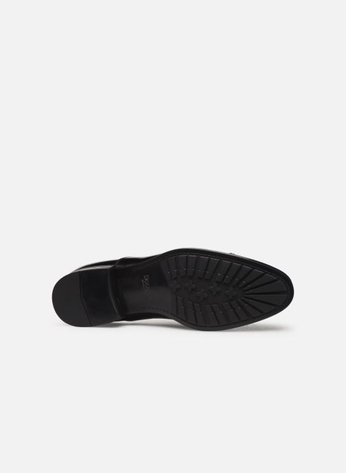 Zapatos con cordones Doucal's OXFORD CAP TOE Negro vista de arriba