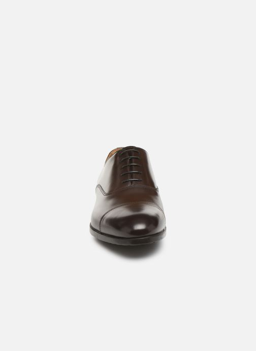 Veterschoenen Doucal's OXFORD CAP TOE Bruin model