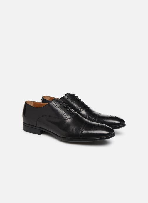 Veterschoenen Doucal's OXFORD CAP TOE Zwart 3/4'