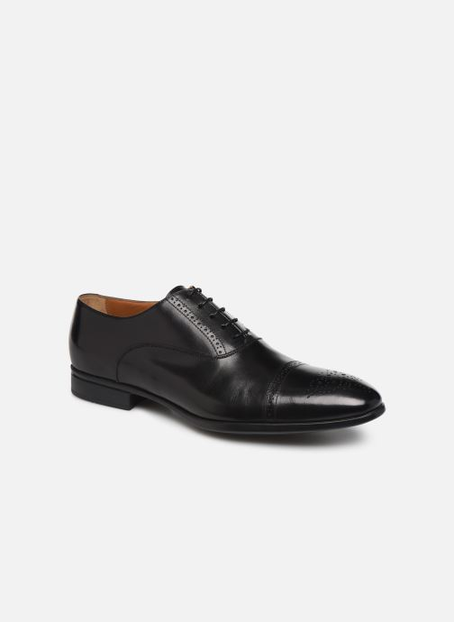 Veterschoenen Doucal's OXFORD CAP TOE Zwart detail