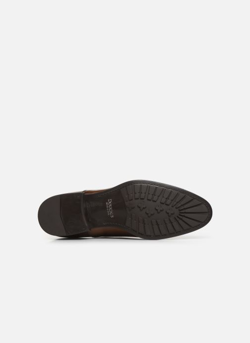 Chaussures à lacets Doucal's OXFORD CAP TOE Marron vue haut