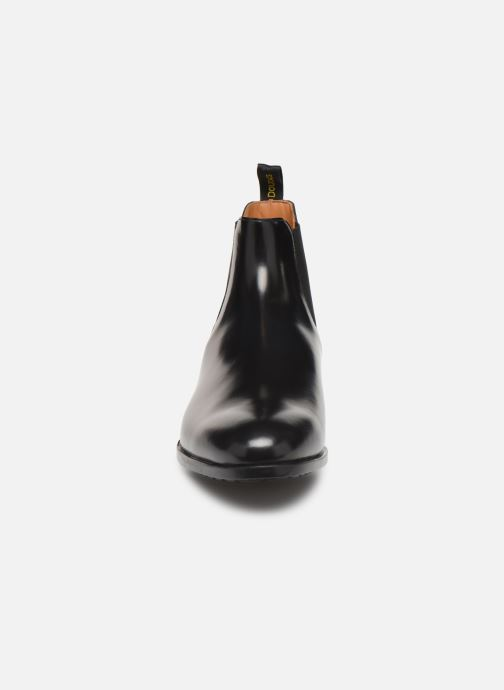 Botines  Doucal's CHELSEA BOOT Negro vista del modelo