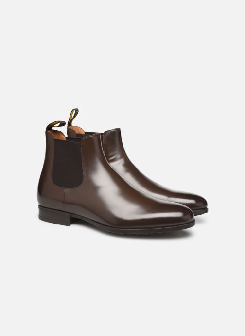 Bottines et boots Doucal's CHELSEA BOOT Marron vue 3/4