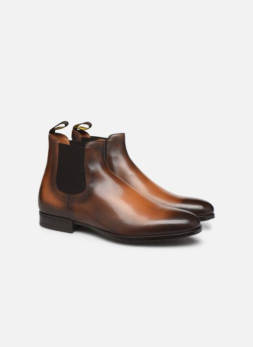 Ankle boots Doucal's CHELSEA BOOT Brown 3/4 view