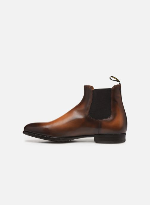 Ankle boots Doucal's CHELSEA BOOT Brown front view