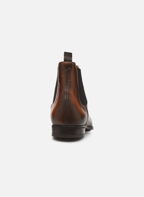 Ankle boots Doucal's CHELSEA BOOT Brown view from the right