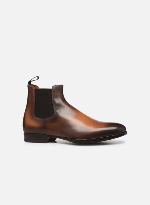 Ankle boots Doucal's CHELSEA BOOT Brown back view