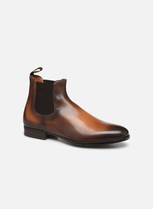 Ankle boots Doucal's CHELSEA BOOT Brown detailed view/ Pair view