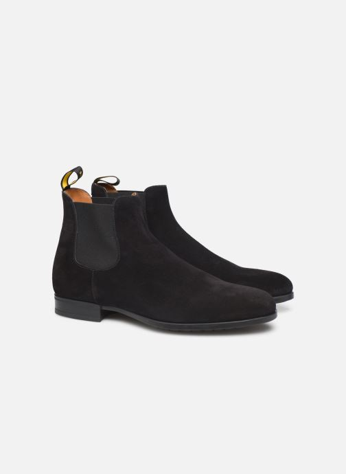 Ankle boots Doucal's CHELSEA BOOT Black 3/4 view